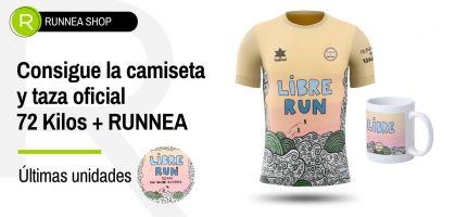¡Últimas Unidades! Consigue la camiseta y la taza exclusiva 72 Kilos + RUNNEA