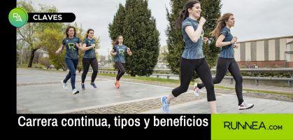 Tipos y beneficios de la carrera continua en tu plan de entrenamiento