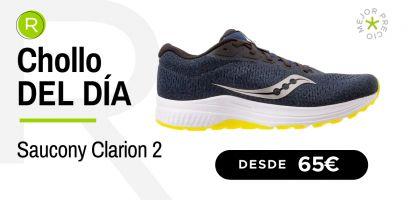 Chollo del día: ¡Saucony Clarion 2 desde 65€, zapatilla para empezar a correr con un -35% descuento!