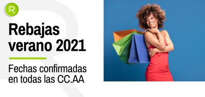 ¿Cuándo empiezan las rebajas de verano 2021 en España?