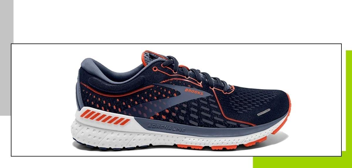 Guía de compra zapatillas de running: Los mejores modelos para evitar la fascitis plantar, Brooks Adrenaline GTS 21