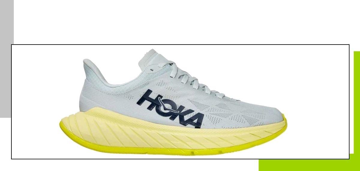 Guía de compra zapatillas de running: Los mejores modelos para evitar la fascitis plantar, HOKA ONE ONE Carbon X 2
