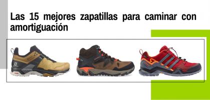 Las 15 mejores zapatillas para caminar con amortiguación