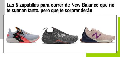 Las 5 zapatillas para correr de New Balance que no te suenan tanto, pero que te sorprenderán