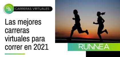 Las mejores carreras virtuales para correr en 2021