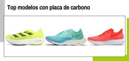 Las mejores zapatillas de running con placa de carbono