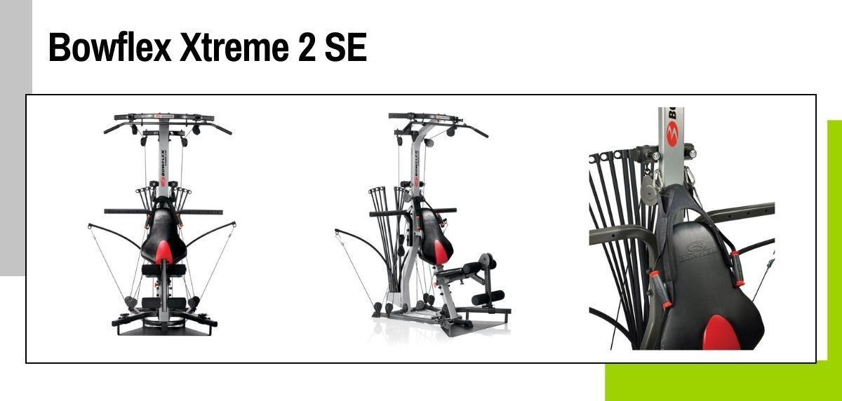 Las mejores máquinas para hacer ejercicios de fuerza y entrenamiento cruzado en casa, Bowflex Xtreme 2 SE