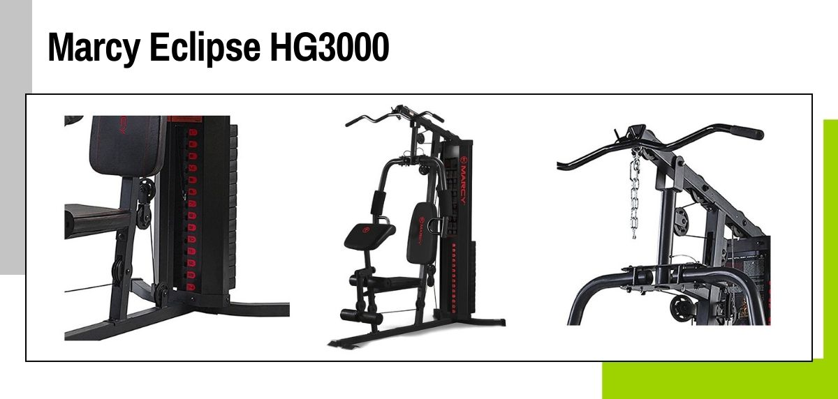 Las mejores máquinas para hacer ejercicios de fuerza y entrenamiento cruzado en casa, Marcy Eclipse HG3000