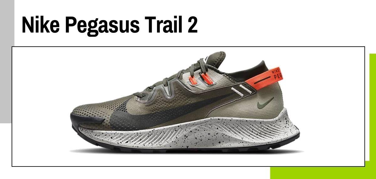 Las mejores zapatillas de Nike para correr en 2021, Nike Pegasus Trail 2