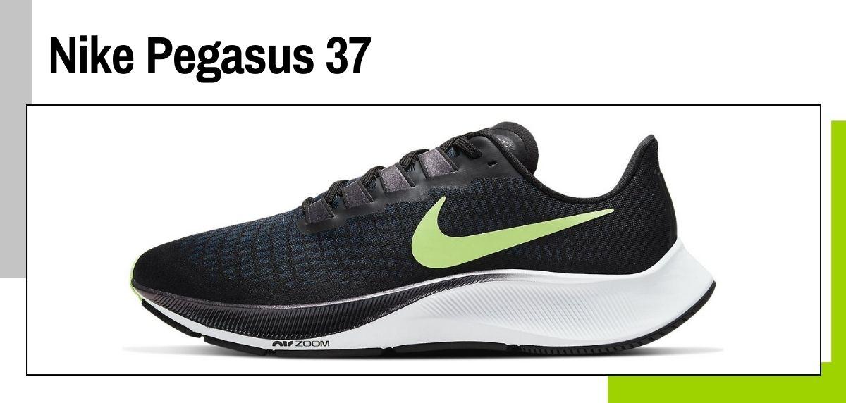 Las mejores zapatillas de Nike para correr en 2021, Nike Pegasus 37