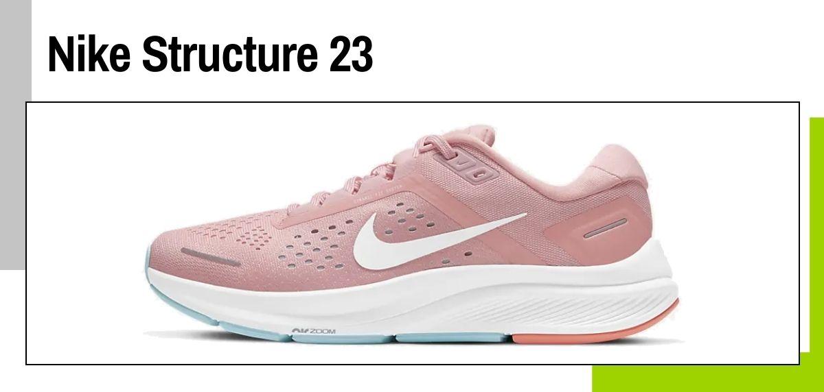Las mejores zapatillas de Nike para correr en 2021, Nike Structure 23