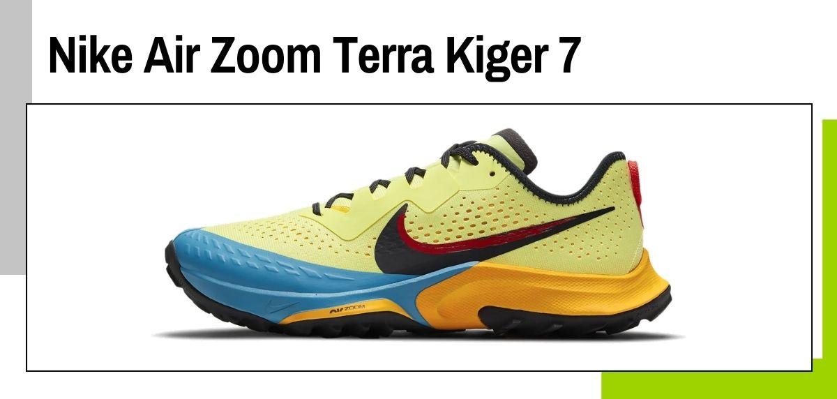 Las mejores zapatillas de Nike para correr en 2021, Nike Air Zoom Terra Kiger 7