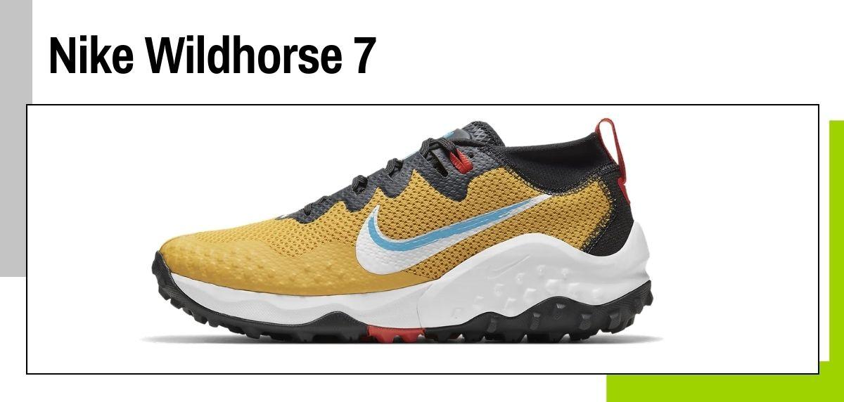 Las mejores zapatillas de Nike para correr en 2021, Nike Wildhorse 7