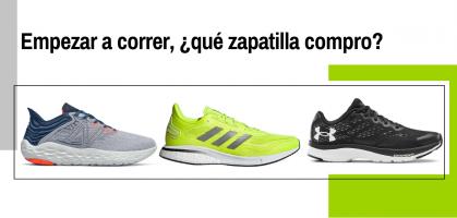 Mejores zapatillas para empezar a correr