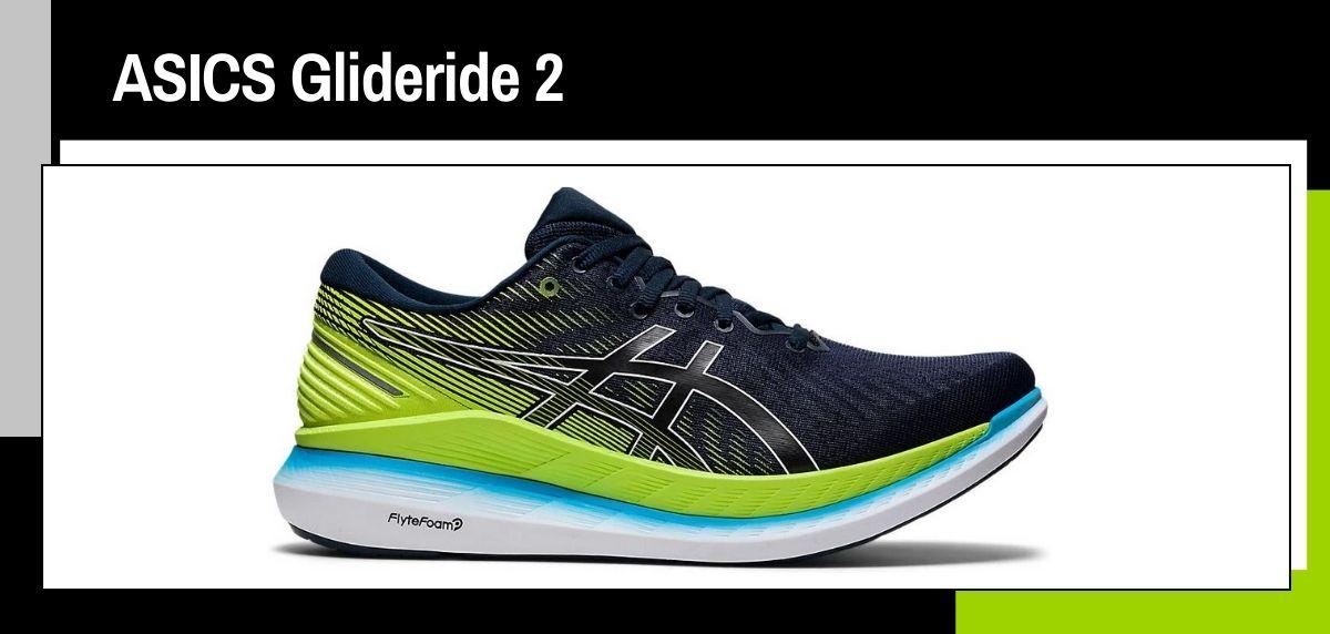 Las mejores zapatillas running 2021, ASICS Glideride 2
