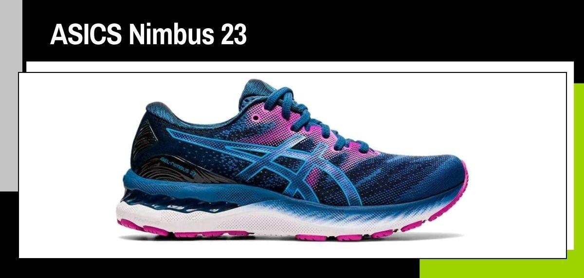 Las mejores zapatillas running 2021, ASICS Nimbus 23