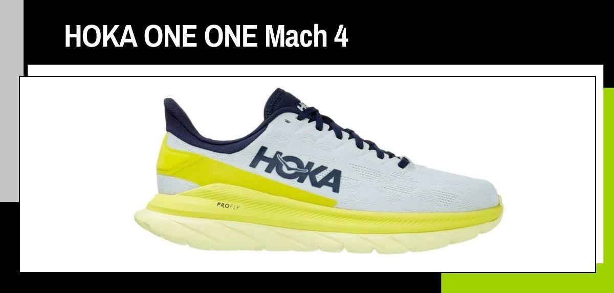 Las mejores zapatillas running 2021, HOKA ONE ONE Mach 4