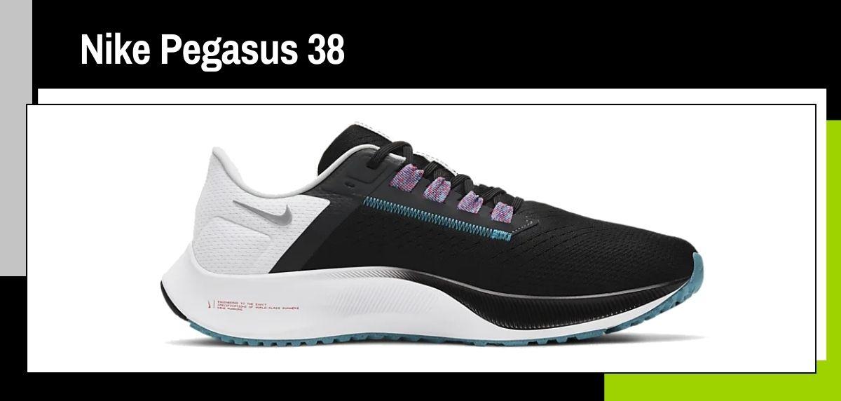 Las mejores zapatillas running 2021, Nike Pegasus 38