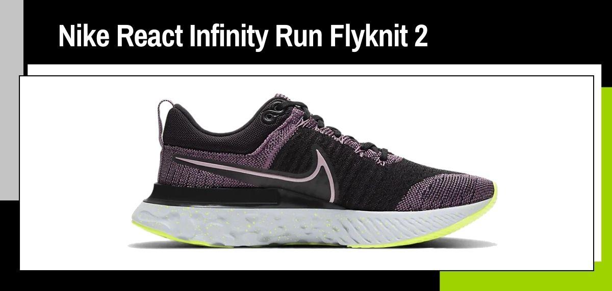 Las mejores zapatillas running 2021, Nike React Infinity Run Flyknit 2