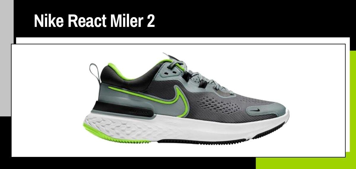 Las mejores zapatillas running 2021, Nike React Miler 2