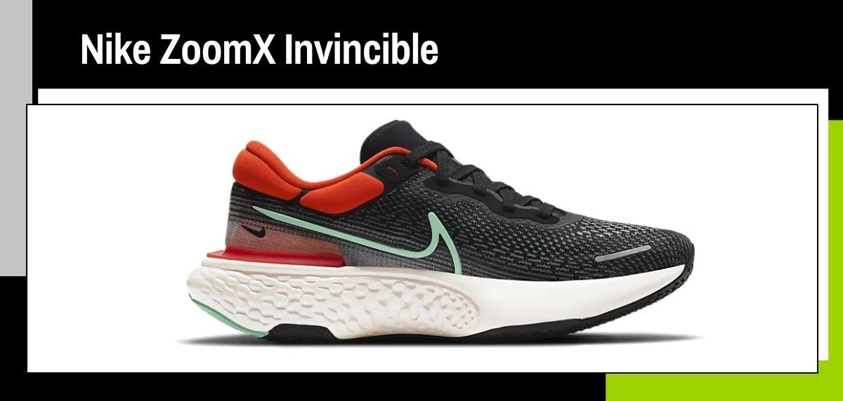 Las mejores zapatillas running 2021, Nike ZoomX Invincible