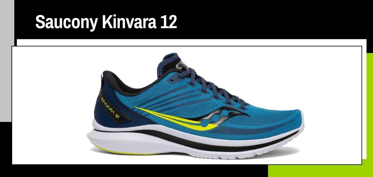 Las mejores zapatillas running 2021, Saucony Kinvara 12