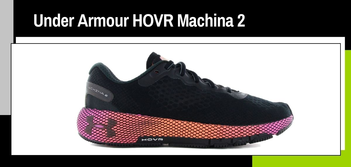 Las mejores zapatillas running 2021, Under Armour HOVR Machina 2