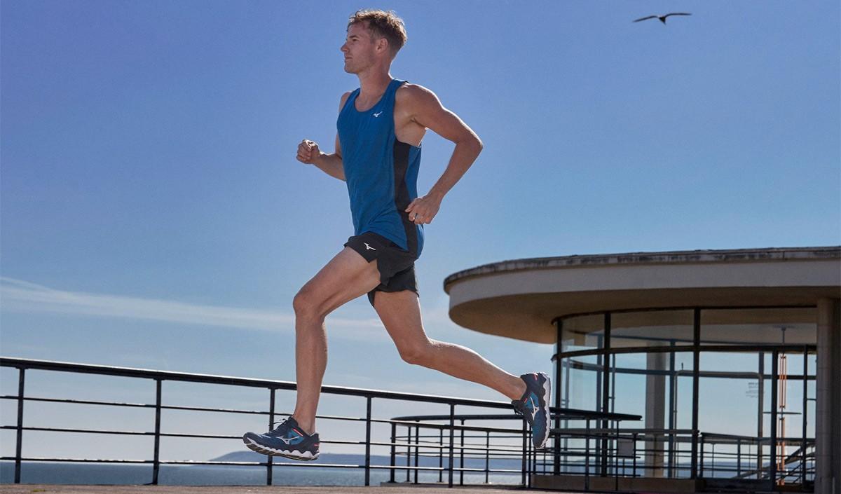 Mizuno Wave Horizon 5, scarpa da allenamento per la corsa a lunga distanza - foto 4