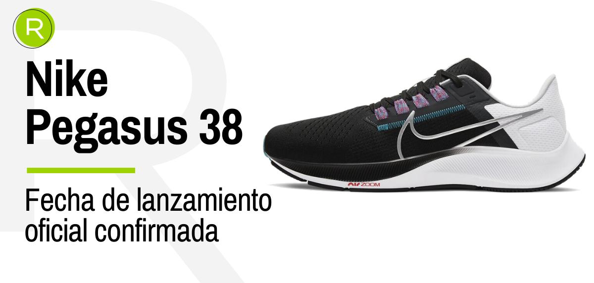 Las Nike Pegasus 38 ya tienen fecha de lanzamiento confirmada