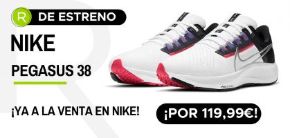 La zapatilla running que estabas esperando: ¡Las Nike Pegasus 38 ya a la venta!