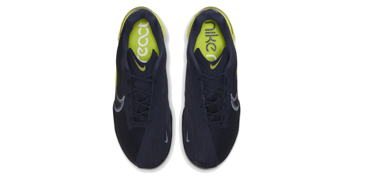 Nike React Metcon Turbo, upper