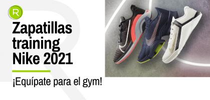 Novedades 2021 de Nike en zapatillas training para gimnasio
