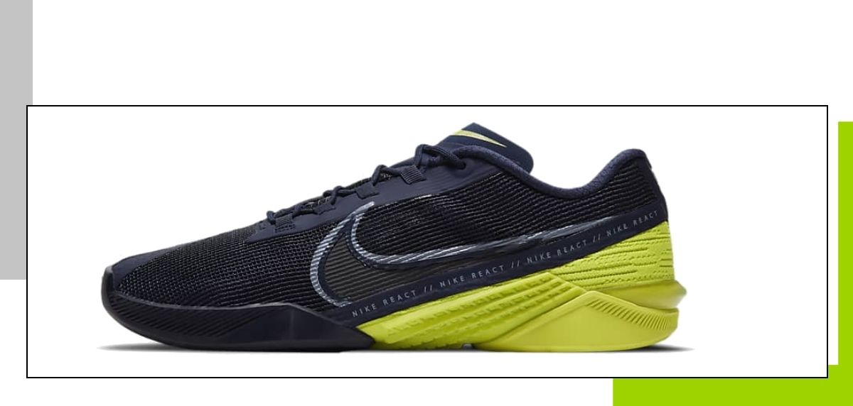 Novedades 2021 de Nike en zapatillas training para gimnasio, Nike React Metcon Turbo