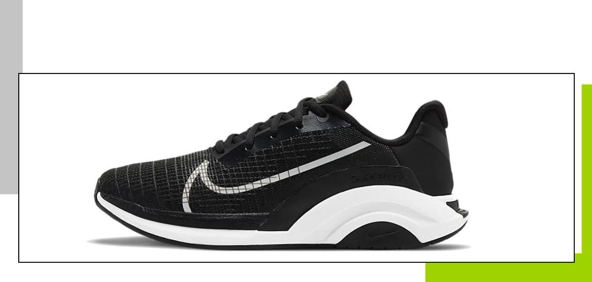 Novedades 2021 de Nike en zapatillas training para gimnasio, Nike ZoomX SuperRep Surge