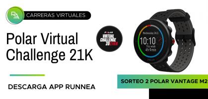 Polar Virtual Challenge 21K: participa gratis y llévate un Polar Vantage M2