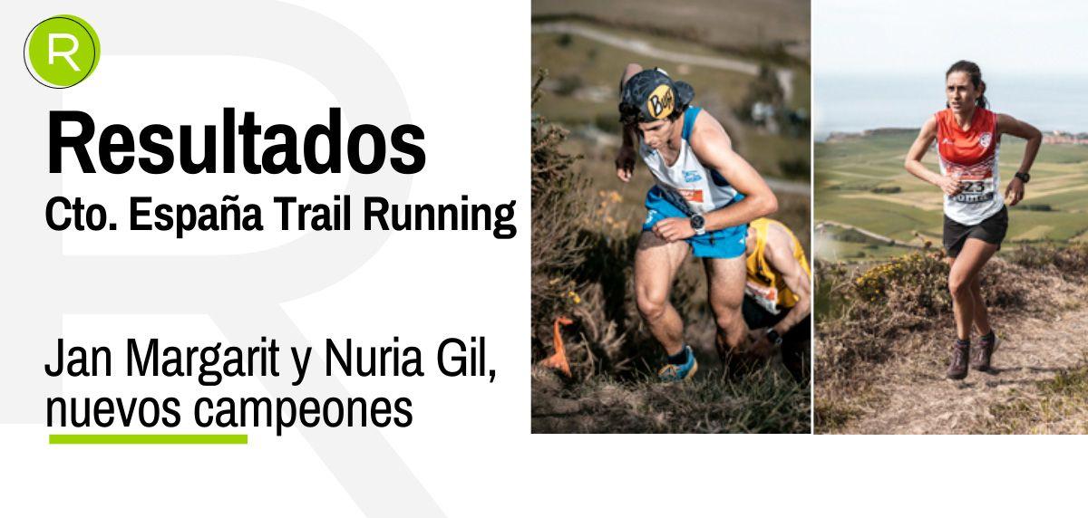 Jan Margarit y Nuria Gil, campeones de España de Trail Running 2021 en Liencres