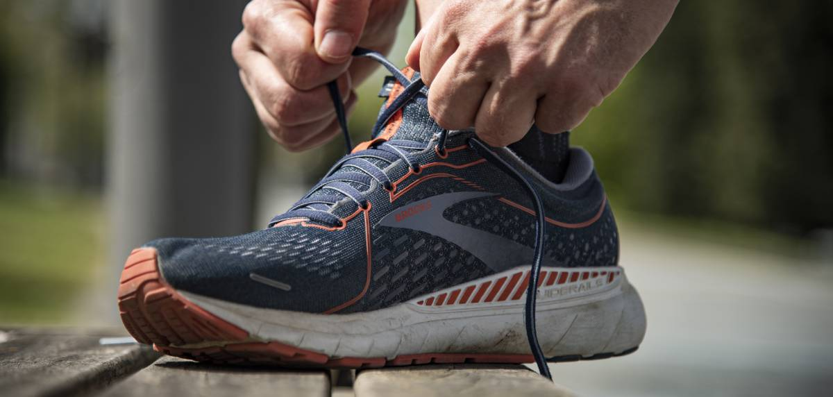 Review Brooks Adrenaline GTS 21, cordonera