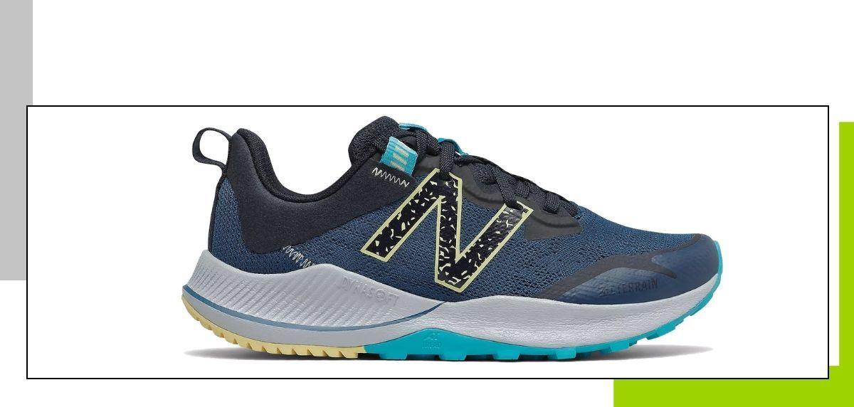 Las 5 mejores zapatillas de trail de New Balance, New Balance Nitrel v4