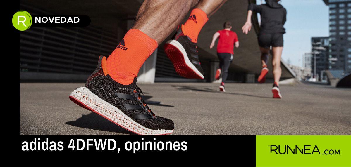 Opiniones adidas 4DFWD: ¿Qué dicen los expertos sobre este nuevo concepto de zapatilla running?