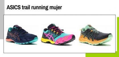 Las mejores zapatillas de trail running para mujer de ASICS