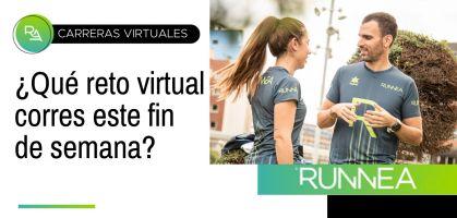 ¡Los mejores retos virtuales para correr este fin de semana!