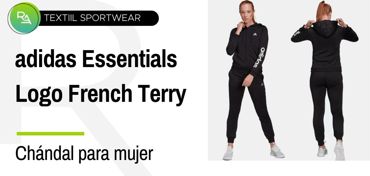 Chándals mujer - adidas Essentials Logo French Terry