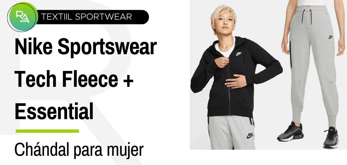Chándals mujer - Nike Sportswear Essential + Sportswear Tech Fleece