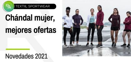 Chándals mujer: las mejores ofertas y novedades de 2021
