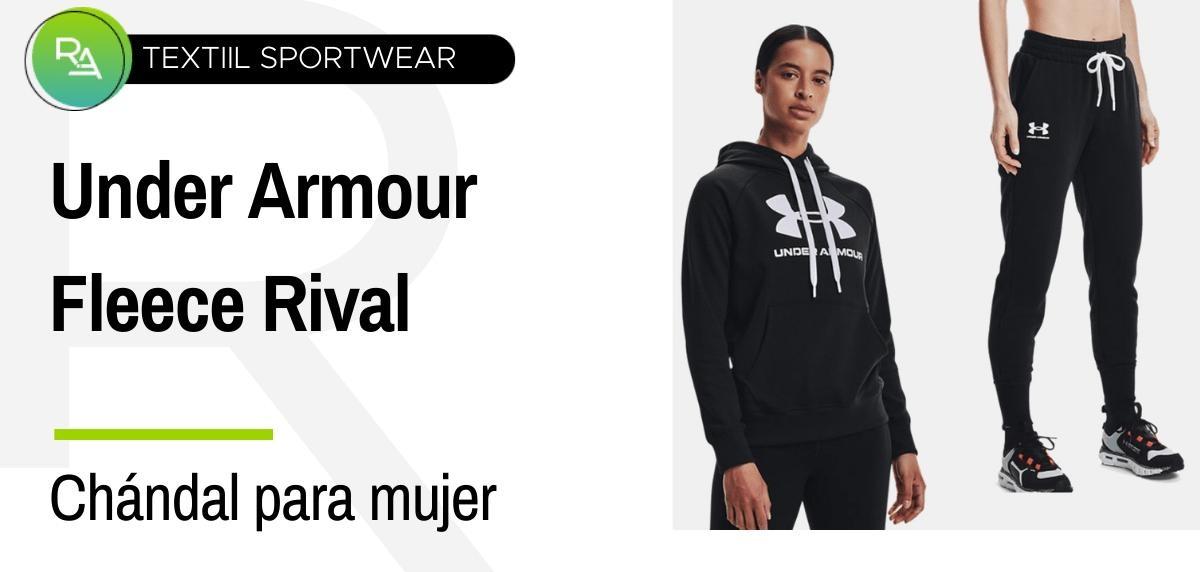 Chándals mujer - Under Armour Jogger + sudadera tejido Fleece Rival