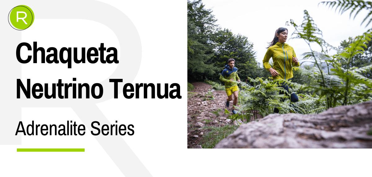 Adrenalite Series de Ternua, el complemento perfecto del runner para asfalto y montaña