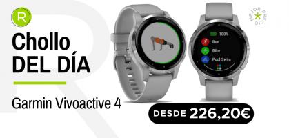 Chollo del día: ¡Garmin Vivoactive 4 desde 226,20€ con un -31% de descuento!