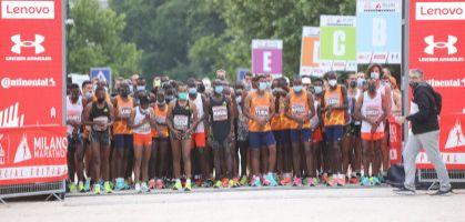 Titus Ekiru y Hiwot Gebrekidan rompen los records de Italia y del año en el Maratón de Milán