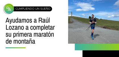 Cómo RUNNEA ACADEMY ha ayudado a Raúl Lozano a completar su primera maratón de montaña