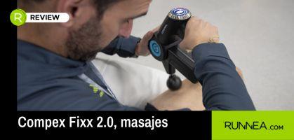 Analizamos el innovador masajeador Compex Fixx 2.0 para recuperarte antes en tus plazos descanso